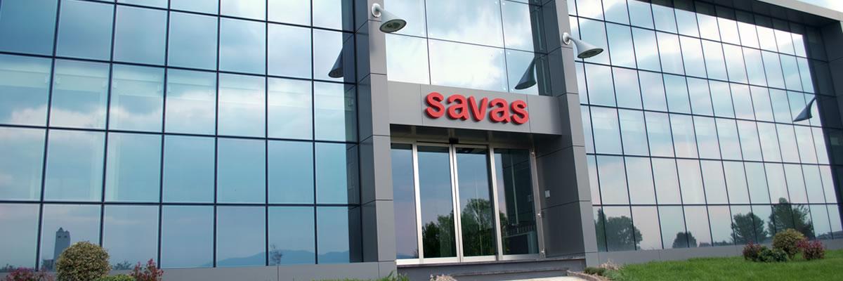 Savas Spa: commercio vetro Evalam