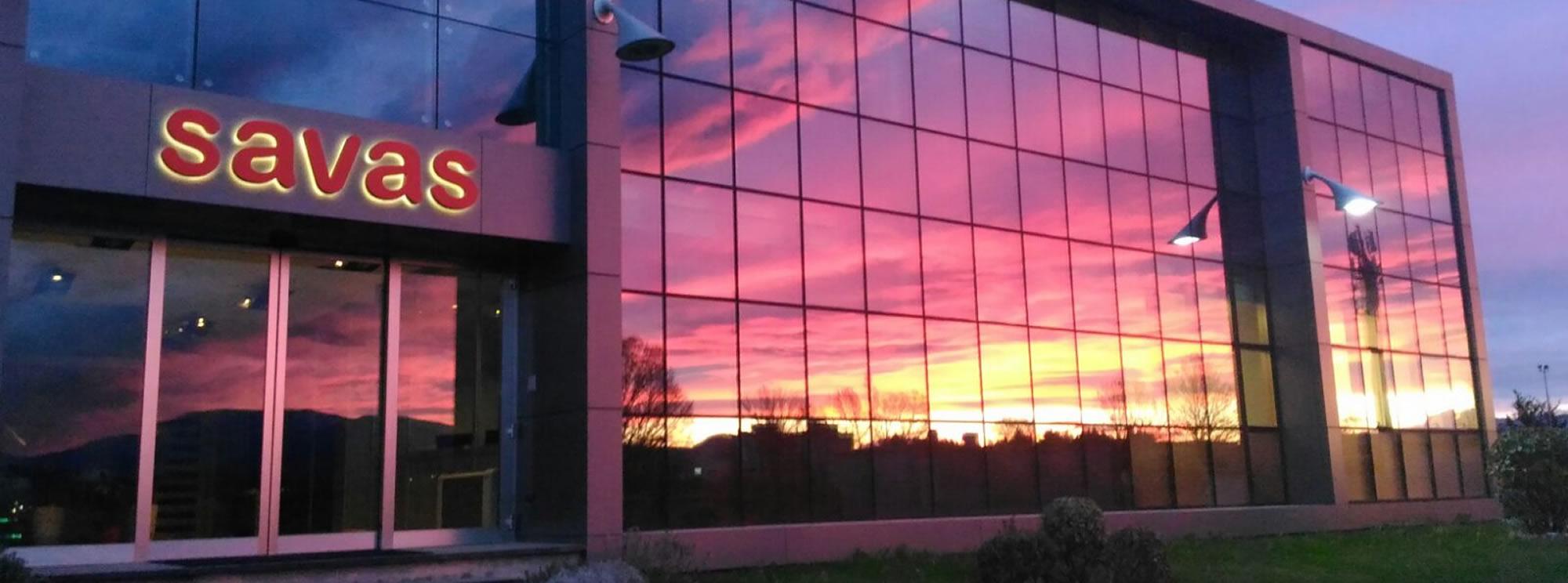 Savas Spa - distributore nazionale vetri Pujol